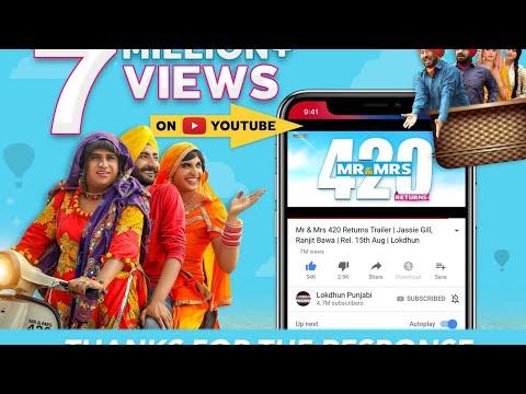 Mr & Mrs 420 Returns  Trailer video song