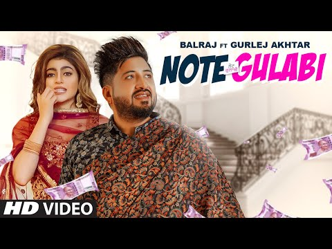 Note Gulabi video song