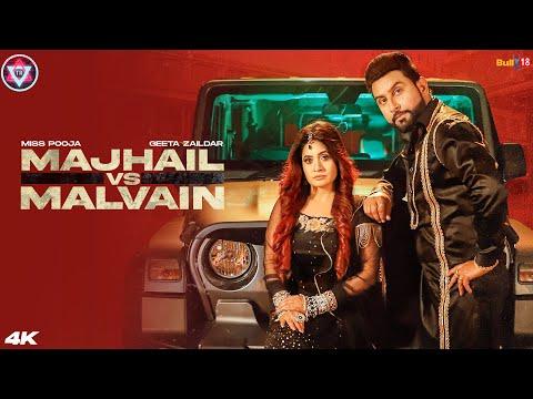 Majhail Vs Malvain video song